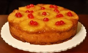 Quick Pineapple Upside Down Cake Recipe