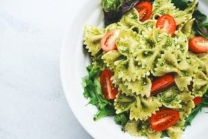 5 Ingredient Creamy Pesto Pasta Salad Recipe
