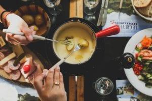 5-Minute Mozzarella Fondue Recipe