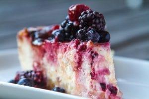 Low fat Funfetti Cheesecake