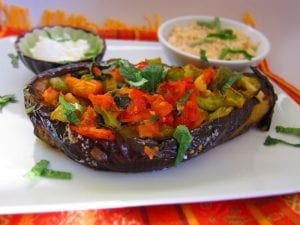 Armenian Stuffed Eggplant (Imam Bayildi) Recipe