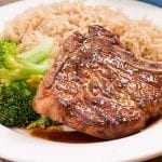 BBQ Pork Chops and Rice Recipe