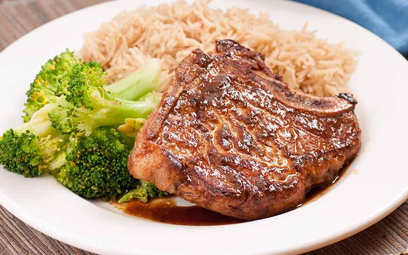BBQ Pork Chops and Rice Recipe