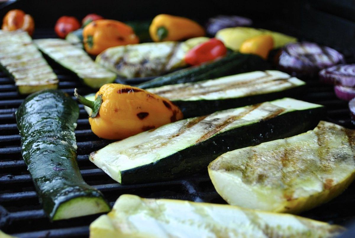 Basted Grilled Vegetables Recipe