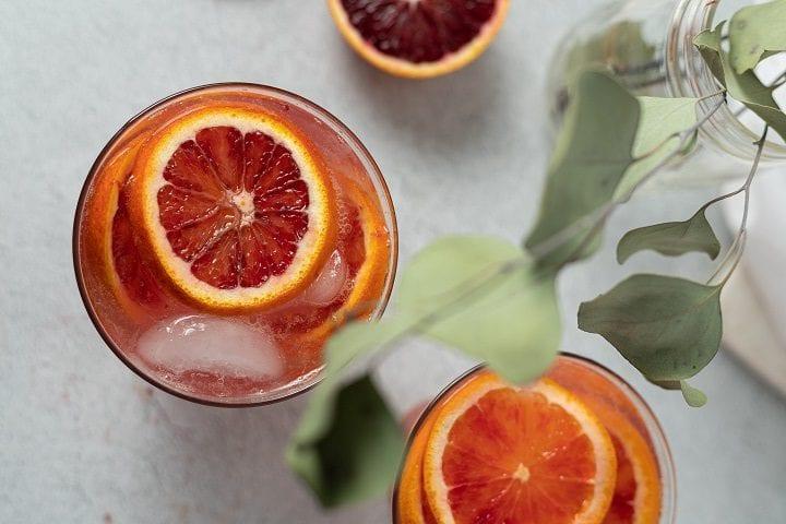 Bittersweet Blaze Pizza Copycat Blood Orange Lemonade Recipe