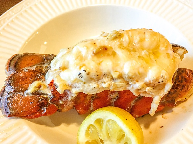 Buttery Sauteed Lobster Tail