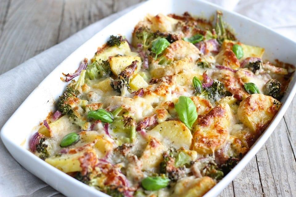 Carrot Potato and Leek Casserole Recipe