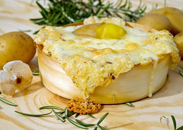 Cheesy Potato, Ham, and Spinach Recipe
