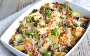 Cheesy Steak And Potato Casserole Recipe