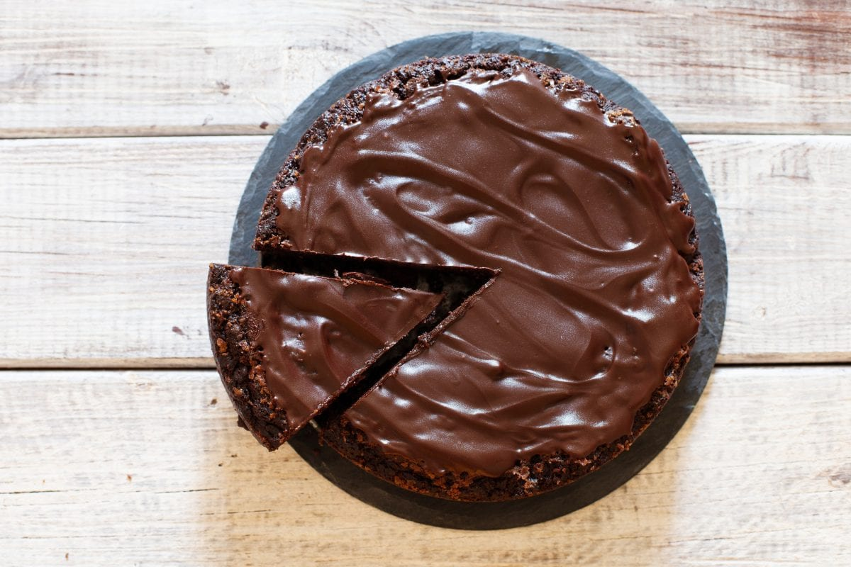 Chocolate Wasted Brownie Dump Cake Recipe