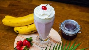 Classic Strawberry Milkshake Recipe