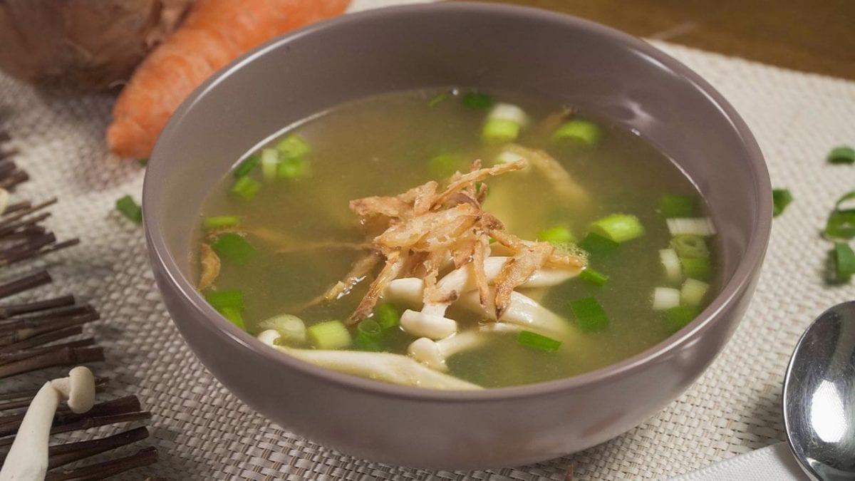 Copycat Benihana Onion Soup