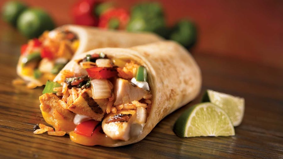 Copycat Chick Fil A Grilled Chicken Cool Wrap