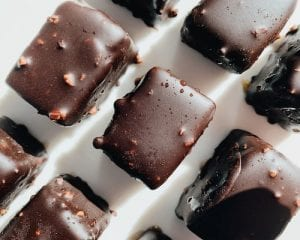 Copycat Fannie May Mint Chocolate Meltaways