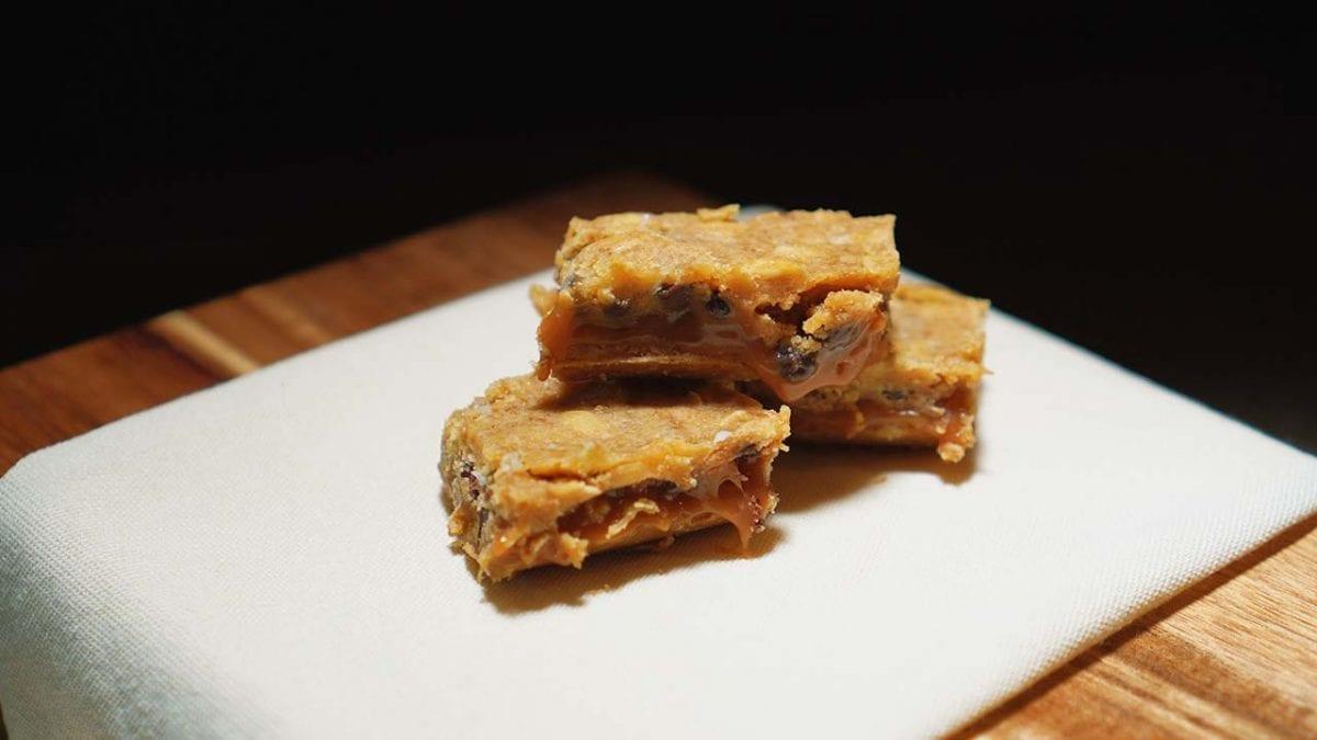 sweet oatmeal dream bars