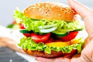 Copycat Red Robin Veggie Burger Recipe