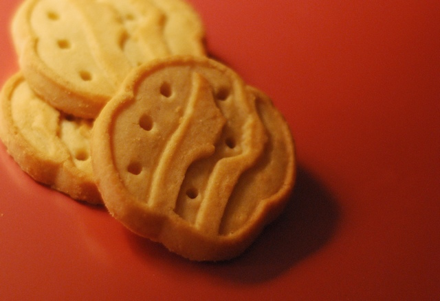 shortbread biscuits trefoils