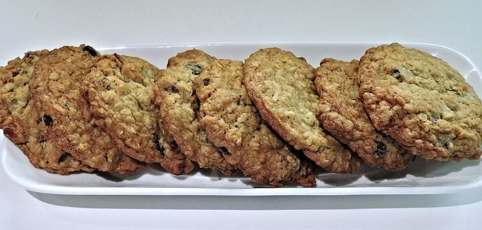 Debra's Special Oatmeal Raisin Cookies From Mrs. Fields Recipe