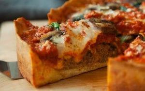 Deep Dish Mushroom Pizza Recipe