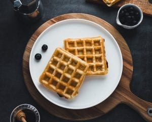 Denny's Inspired Delicious Belgian Waffle Recipe