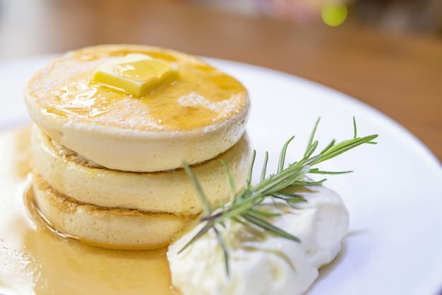 Denny's Inspired Fluffy Pancake Recipe