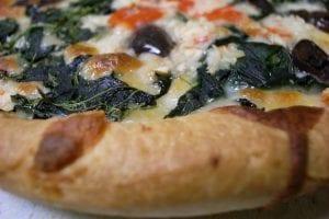 Domino's Spinach And Feta Pizza Recipe