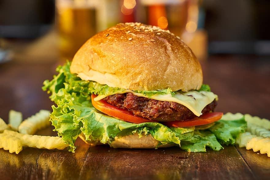 Easy Copycat Steak N' Shake Garlic Cheeseburger Recipe