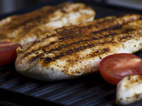 delicious grilled white fish