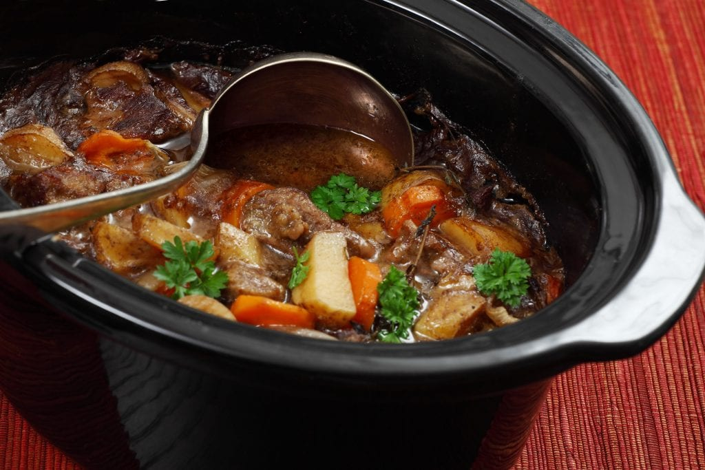 Easy Overnight Slow Cooker Beef Stew Recipe
