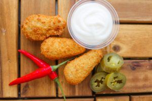 Fresh Mozzarella Jalapeno Poppers Recipe