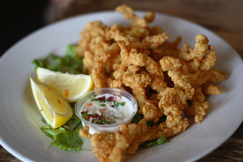 are clam strips good on low carb diet
