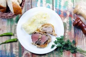 Garlic Roasted Pork Neck Recipe