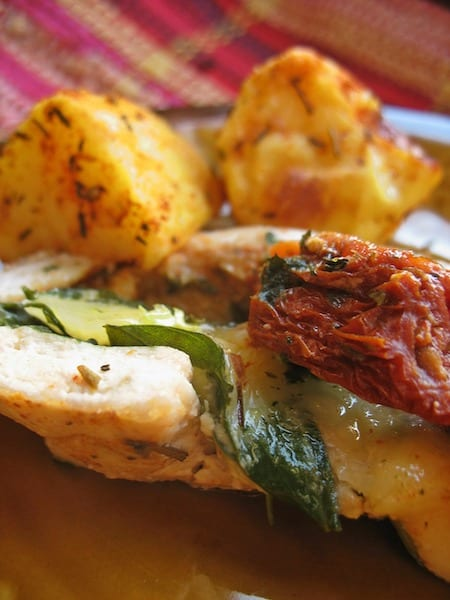 Golden Herb Chicken Wings And Potatoes Recipe