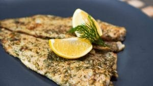 Grilled Lemon Pollock Recipe