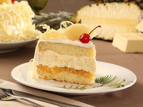Hawaiian Wedding Cake Recipe, simple hawaiian coconut pineapple cream cake
