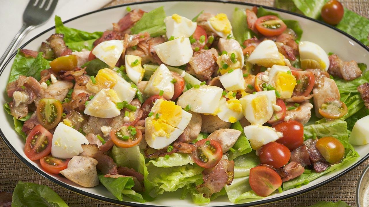 Hearty Freshii Copycat Cobb Salad Recipe