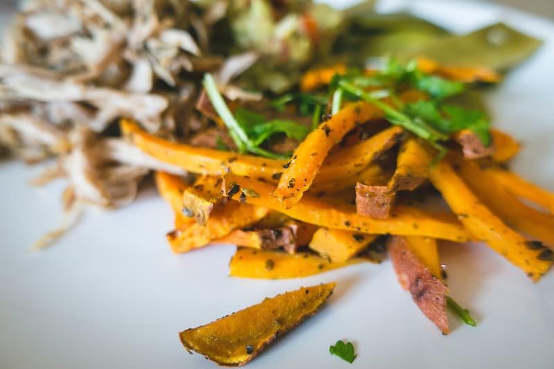 Honey Baked Sweet Potato Fries Recipe