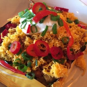 Inspired by Denny's Easy Santa Fe Skillet Recipe