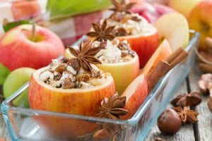 Johnny's Chunky Chicken Salad Stuffed Apples Recipe