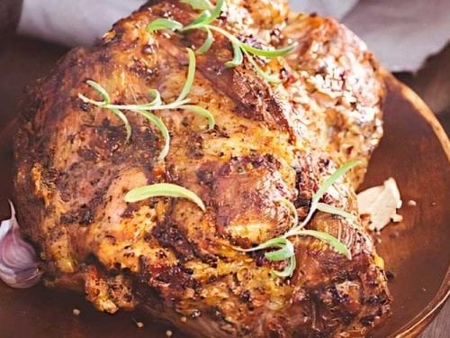 pork roast recipe