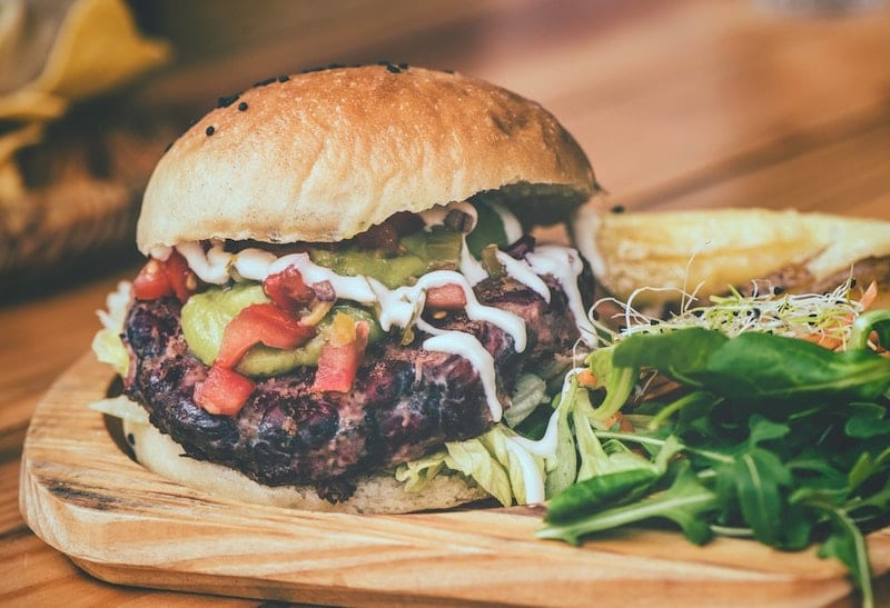 Lamb Burgers with Fennel Salad Recipe