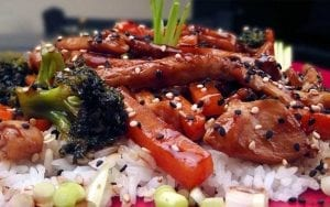 Lemon Teriyaki Glazed Chicken Recipe