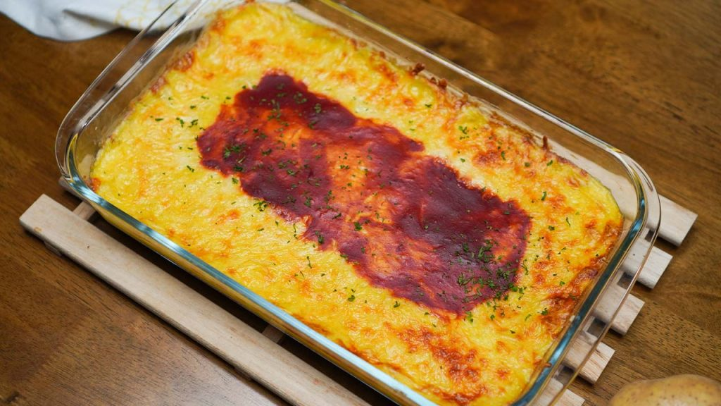 Mashed Potatoes and Rice Casserole Recipe