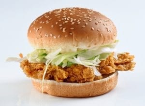 Quick McDonald's Copycat McChicken Recipe