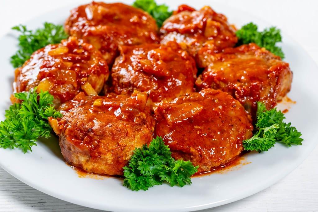 Microwave Porcupine Meatballs Recipe