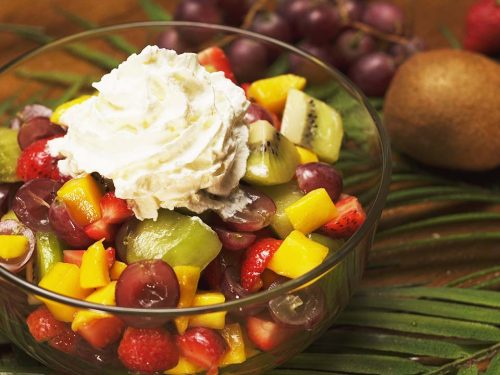 Mixed Fruit Salad Recipe, best healthy simple fruit salad recipe