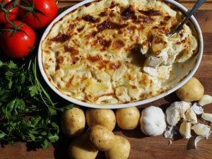 Mom's Au Gratin Potatoes Recipe