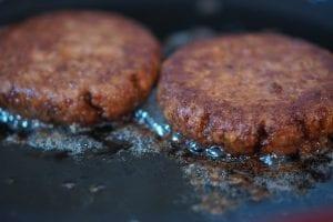 Mushroom Smothered Beef Burgers Recipe