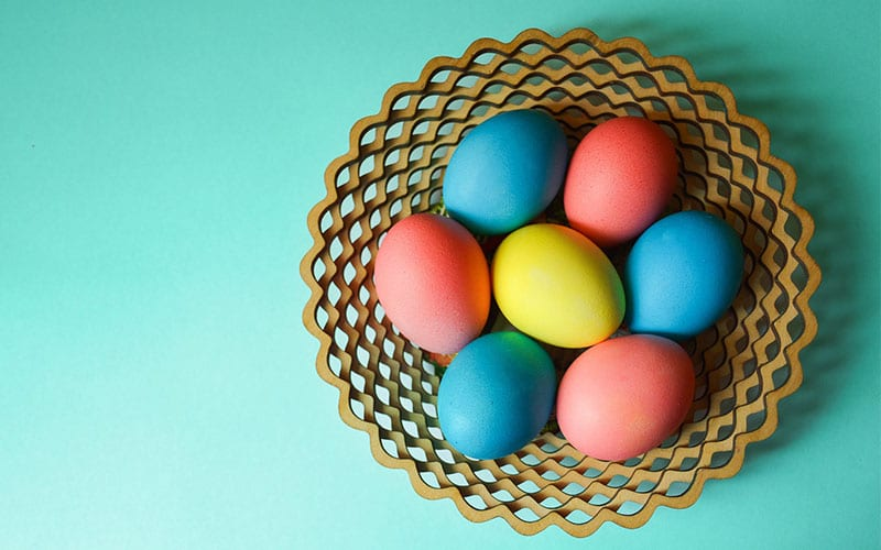 Old-Fashioned Egg Dye Colors Recipe