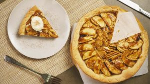 Open Face Apple Pie Recipe